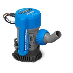 """TRAC Bilge Pump Automatic - 600 GPH - 3/4"""" Outlet  69310"""