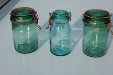 JUMBO 4 L verre JARRE-Géant Jam jar avec vis en haut couvercle de métal