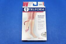 Truform 8845WH-XL X-Large size Compression Stocking Soft Top Closed Toe 30-40 mm