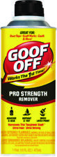 Goof Off Pro Strength Remover Adhesive & Glue 16 Ounce For The Toughest Stuff