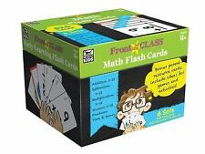 Front of the Class: Math Flash Cards, Ages 4+ (2016, Cards,Flash Cards)