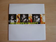 """Faith Hope & Charity: Growing Pains  7"""": 1990 UK Release: Picture Sleeve"""