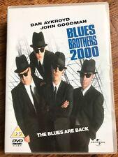 Dan Aykroyd John Goodman BLUES BROTHERS 2000 ~ 1998 Musical Comedy Sequel UK DVD