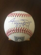 "Willie Mays Signed Autographed ROML Hall Of Fame Baseball ""HOF 79"" Say Hey Auth"