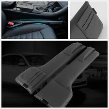 Pair Multifunction PU Leather Car Seat Side Gap Filler Storage Organizer Pocket
