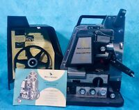 VTG Bell & Howell Director Series DualLectric 8MM Auto Threading Projector WORKS