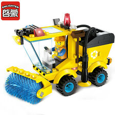 City road sweeper 102pcs Construction block set works with Lego 1101