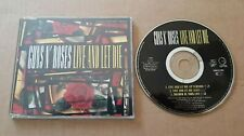 GUNS N' ROSES live and let die CD maxi  french