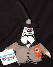 """Nightmare before Christmas Two Face Mayor plush 8"""" Disney store w tag"""