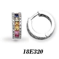Hoop Very Good Cut I1 Fine Diamond Earrings