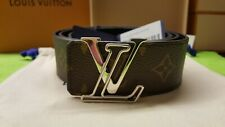 Louis Vuitton LV INITIALES reversible 40MM BELT - Brown M0167T Size 95/38 NEW