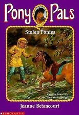 Stolen Ponies - Jeanne Betancourt - Pony Pals #20 - horses disappear in storm