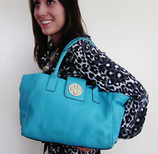 Kate Spade NY 'Rue' Bexley Firoze Aqua pebbled leather handbag Medium Tote Bag