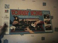 MB Games Donkey Kong Board Game of video game 1983 COMPLETO FUNZIONANTE RARO