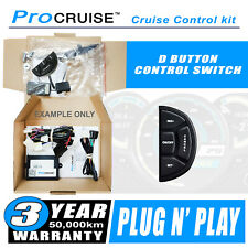 Cruise Control Kit Ford Focus CL 2005-2011 (With D-Shaped control switch)