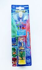 PJ Masks Kids Battery Powered Toothbrush Firefly Turbo Power Max