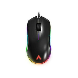 Open Box Azio Atom RGB Ambidextrous Lightweight FPS Gaming Mouse Optical Sensor