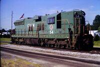 Original Slide Chicago & Illinois Midland C&IM 54 Springfield, IL 1987