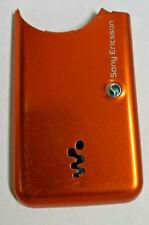 Sony Ericsson W600 W610i Phone Standard Housing Battery Door Back Cover Orange