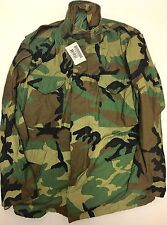 New NWT Genuine US Military M-65 Field Jacket Woodland Large Regular LR