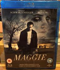 Maggie Blu-Ray (2015) Arnold Schwarzenegger, Infected Virus Rare Horror Thriller