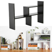 Desktop Storage Rack Home Office Desk Storage Organizer Bookshelf Shelf DIY