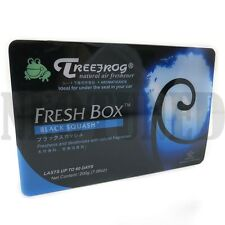 Treefrog Tree Frog Xtreme Natural Air Freshener Fresh Box Black Squash Scent New