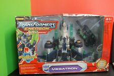 Megatron Energon Transformers Super Class Hasbro 2004 MISP! With Tank Powerlinx