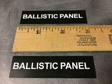 Ford Police Interceptor Taurus Explorer BALLISTIC PANEL sticker