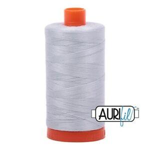 Aurifil Cotton Thread Mako 50wt Large Spool 1422 yards/1300 meters MK50SC6-2600