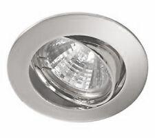Aurora MR16 Eyeball lamp 'Satin Silver' finish             A2-DLL302
