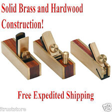 Small Wood Planes Woodworking Planer Planing Carpenter Hand Plane 3pc