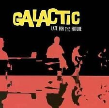 1 CENT CD Late for the Future - Galactic