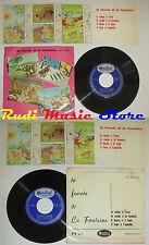 LP 33 7'' le favole di LA FONTAINE III VOLPE UVA CICALA FORMICA LEONE cd mc dvd