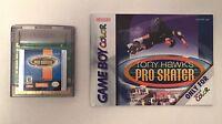 Nintendo Rare Tony Hawk's Pro Skater w/ Manual Gameboy Color Cartridge GBC