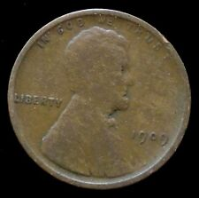 1909 Philadelphia Mint Lincoln Wheat Penny Cent
