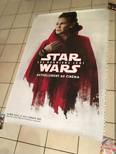 Star Wars VIII The Last Jedi Movie Poster Leïa 120x170  Double Sided Bus shelter