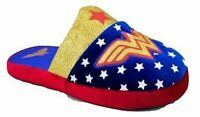 WONDER WOMAN JUSTICE LEAGUE DC COMICS Plush Slippers Girls/Youth 2-3 4-5 New