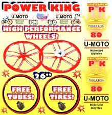 48cc 66cc 80cc 2-STROKE MOTORIZED BIKE WHEELS FOR BICYCLE ENGINE KIT MOTOR BIKE