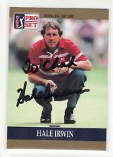 Hale Irwin Golf Personalized Autographed Card Hard To Find Thur The Mail