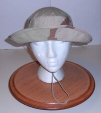 BOONIE HAT, GI TYPE II TRI-COLORED DESERT, SZ. 7(S), '03 ISS. 50/50 NYCO, GOOD!