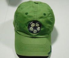 Children's Green Life Is Good Soccer Hat Size S 2-4 T 100% Cotton