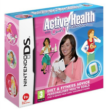 NDS-Active Health Carol Vorderman With Activity Meter/NDS  GAME NEW