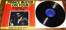 PRINCE BUSTER ~ ON TOUR ~ UK BLUE BEAT LP 1967 ~ 12-TRACK VINYL LIVE SKA LP