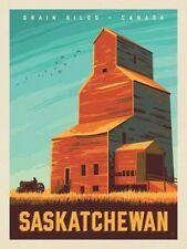 """GRAIN SILDS CANADA SASKATCHEWAN Photo Flexible Fridge Magnet 2""""x 3"""""""
