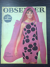 Observer Magazine Paris Fasion Collection Special: Sept 5, 1965