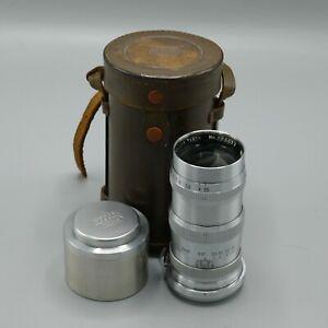 Nippon Kogaku Tokyo Nikkor-Q MIOJ 13.5cm 1:3.5 rangefinder lens.