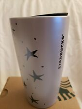 Starbucks Halloween Fall 2020 Cat Moon White Ceramic 12 oz Tumbler New