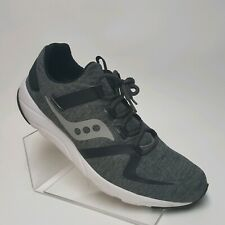 Saucony Everun Mens Running Shoes Walking Sneakers Black Gray Size 10.5 S40014-1