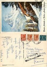 REPUBBLICA-Turrita+Rec Autorizzato(RA13)-Cartolina Roma 23.11.1977-Al mittente